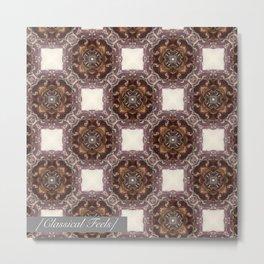 Classical pattern Metal Print