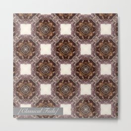 Classical pattern Metal Print