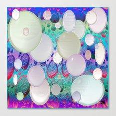 Air Bubbles Canvas Print
