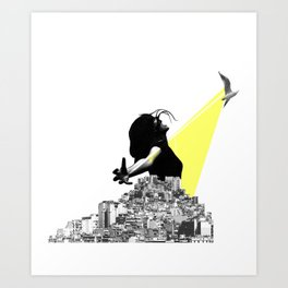 New Born One Art Print