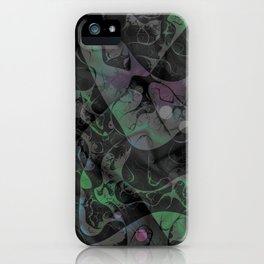 Abstract DM 04 iPhone Case