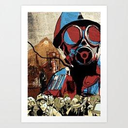 UNDER CONTROL (2) Art Print