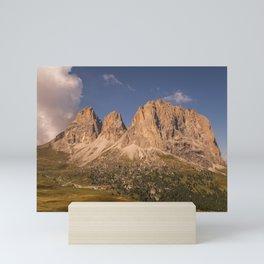 The Langkofel Group Mini Art Print