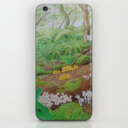 A Day of Forest (5). (dead wood ecosystem) iPhone Skin