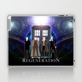 The Doctor Of Regeneration Laptop & iPad Skin