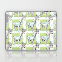 Alpaca in Coat Pattern Laptop & iPad Skin