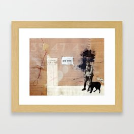 Are over. Framed Art Print