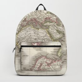 Vintage Map of The World (1832) Backpack