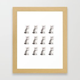 Kittens Forever Framed Art Print