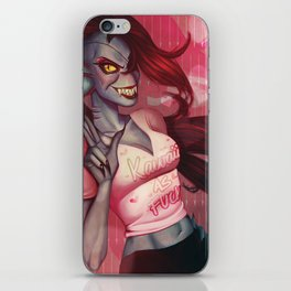 Undyne, the Undying iPhone Skin