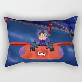 Hiro and Baymax Rectangular Pillow