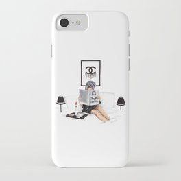Relax reading iPhone Case