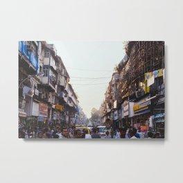 mumbai streets Metal Print
