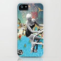 Happy Hippy Hippo Slim Case iPhone (5, 5s)