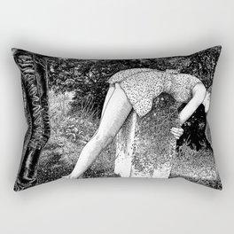 asc 731 - L'autel de la fidélité (Elegy to a Deceased husband) Rectangular Pillow
