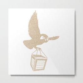 Owl Crate 4 Metal Print
