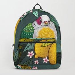 Yellow Headed Fruit Dove Backpack