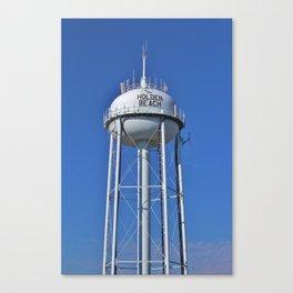 Holden Beach Water Tower Canvas Print