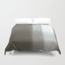 Industrial Brushed Stainless Duvet Cover