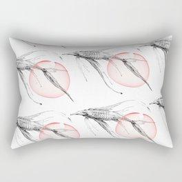 fish and caviar Rectangular Pillow