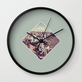 Desert Fun Wall Clock