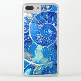 madagascarblue Clear iPhone Case