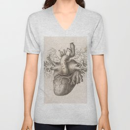 The Back Of The Heart Unisex V-Neck