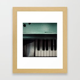 Weathered Notes Framed Art Print