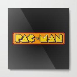 Classic Pac-Man Metal Print
