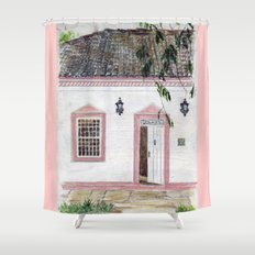 House in Pirenópolis Shower Curtain