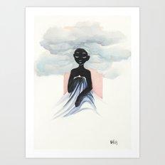 Cloud Child Art Print
