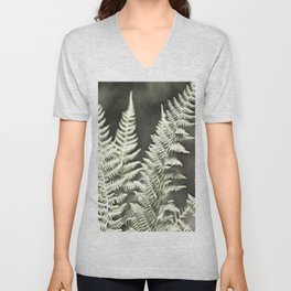 Fantasy Feather Like Fern Unisex V-Neck