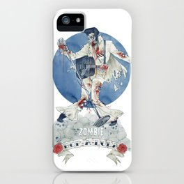 Zombie bop-a-lula iPhone Case