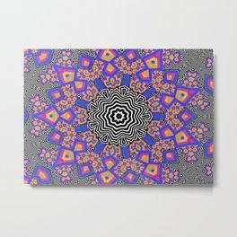 Mo-psyco Mandala No.1 Metal Print