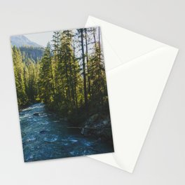 Morning at Agnes Creek - Pacific Crest Trail, Washington Stationery Cards