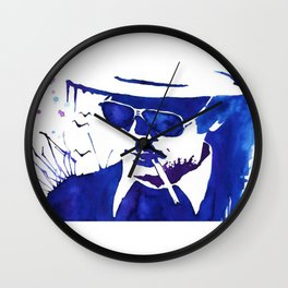 Hunter Thompson Wall Clock