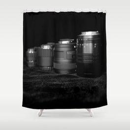 Four Lenses Shower Curtain