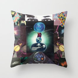 The Universe is Watching Throw Pillow