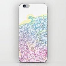 Swirling clouds in the heavens iPhone & iPod Skin