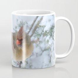 Drifting (Northern Cardinal) Coffee Mug