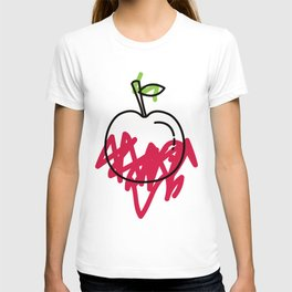 colour me bad / apple T-shirt