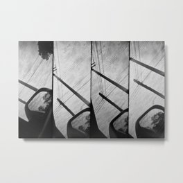 Car in Brasil Metal Print