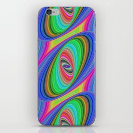 Ellipse pattern iPhone Skin
