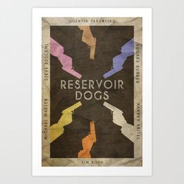 Stuck in the Middle - Resevoir Dogs Poster Art Print