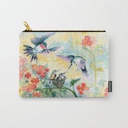 Hummingbirds Secret Garden Carry-All Pouch