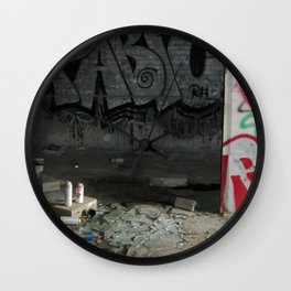 Demolished Providence Wall Clock