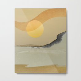 Abstract Landscape 03 Metal Print
