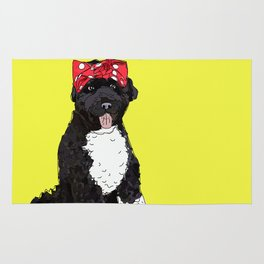 Political Pup -Every Vote Counts Rug