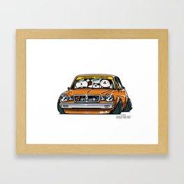 Crazy Car Art 0146 Framed Art Print