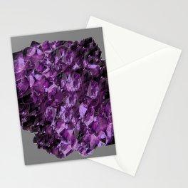 AMETHYST MINE CRYSTAL NODULE Stationery Cards